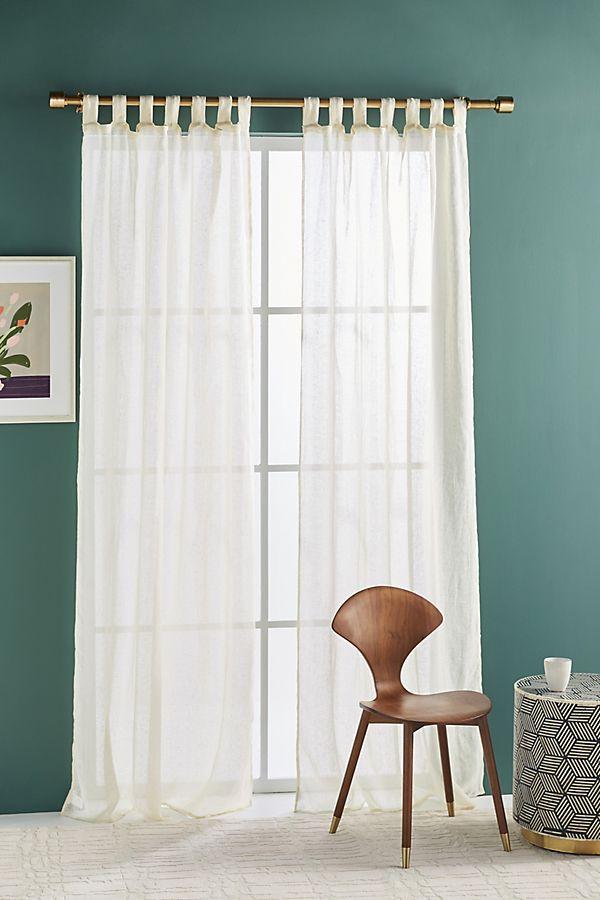 Gauzy Linen Curtain Linen Curtains Curtains Furniture Decor