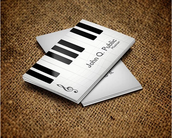 28 Musician Business Card Design You Must See Musician Business Card Business Card Design Card Design