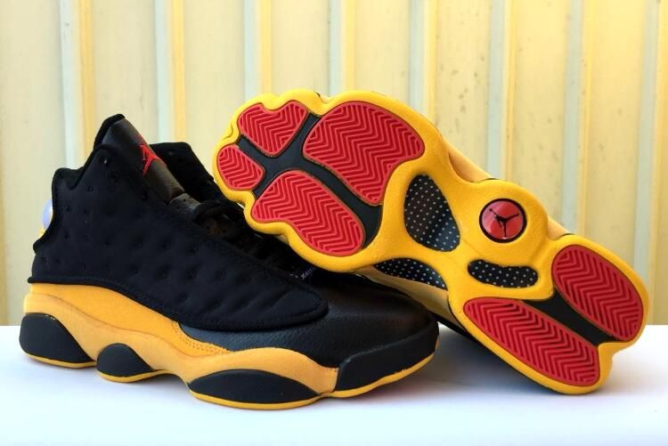 "df1a5a91598193 Air Jordan 13 Carmelo Anthony ""Class of 2002″ Black University  Red-University Gold 414571-035"