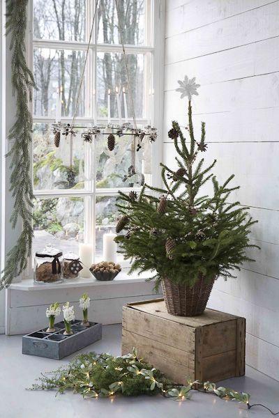 Jule dekoration i hjemmet