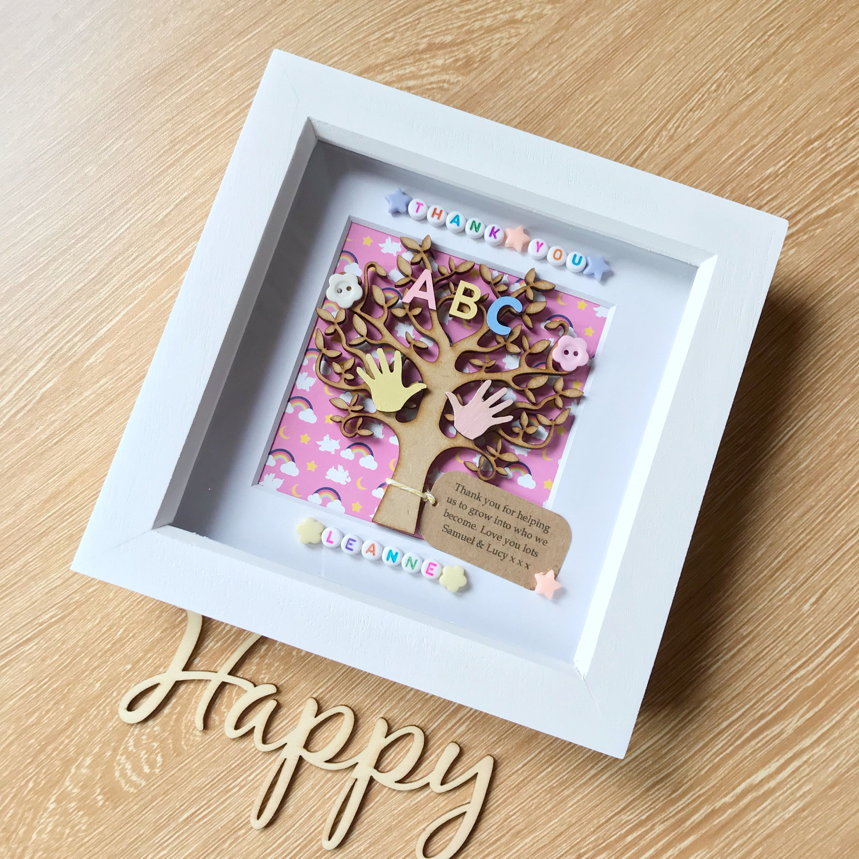 Childminder Gift. Nanny Gift. Nursery Gift. Thank You Gift