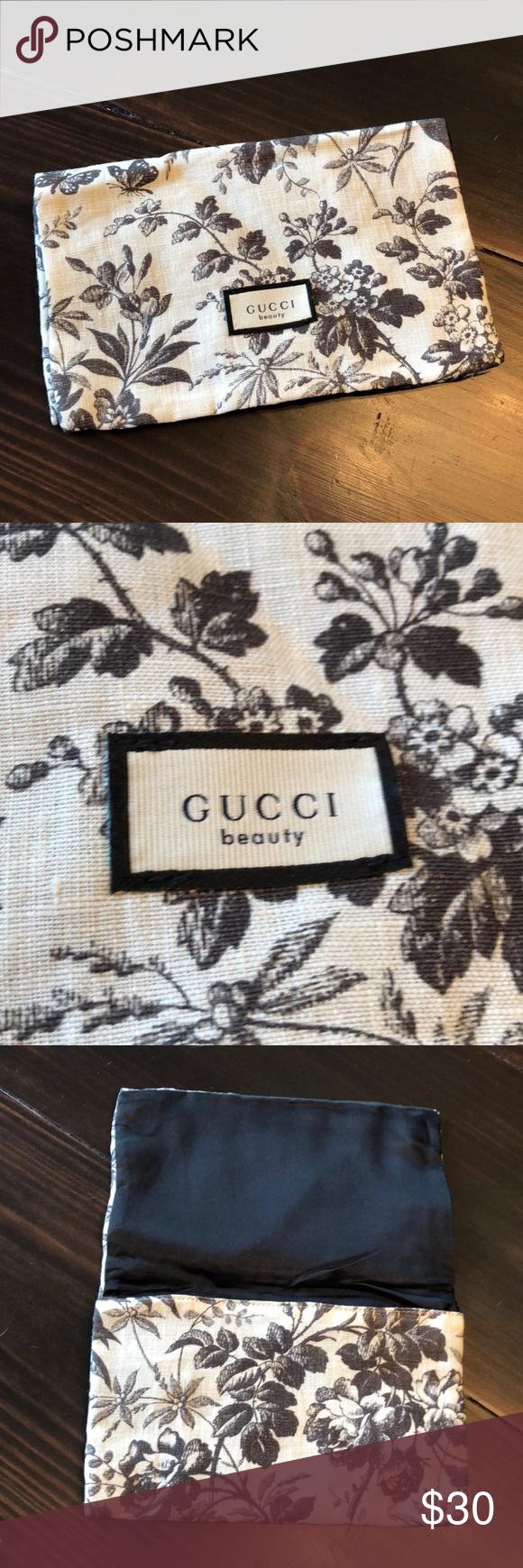 Gucci Floral Makeup Bag NWT Gucci floral, Makeup bag, Bags