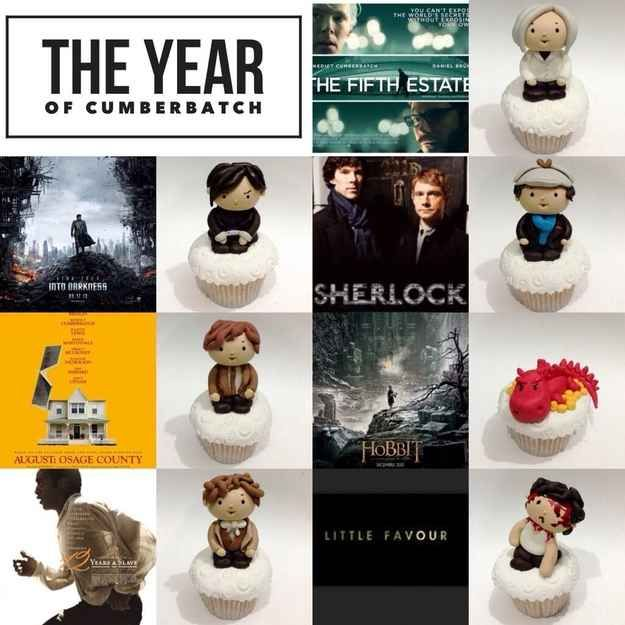 But these amazing Benedict Cumbercupcakes, made by a very talented fan in Indonesia , will make your night a little bit better.