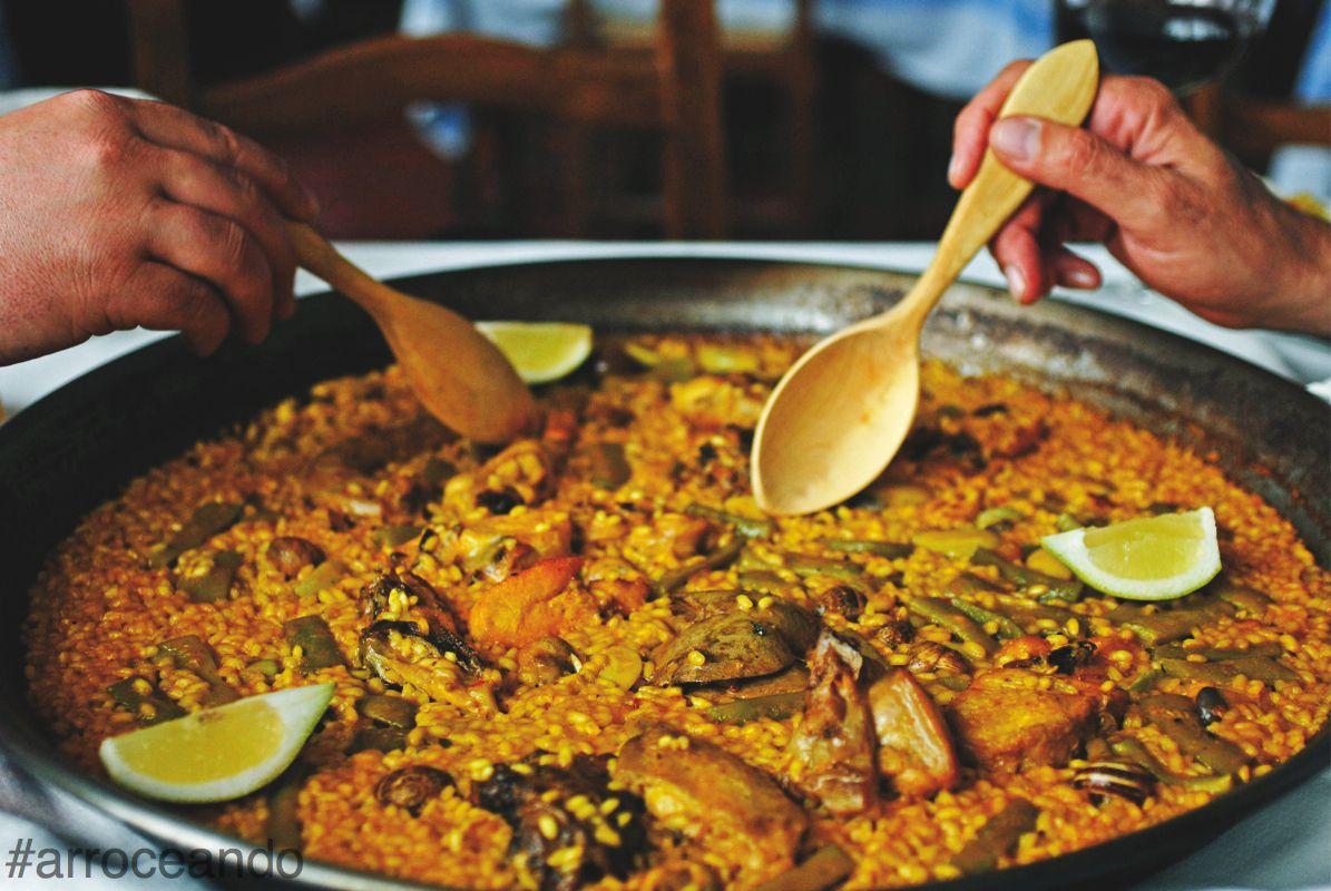 #arrozenfamilia es comer en valencia por Turisvalencia