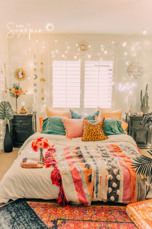 Bohemian Eclectic Decor Bedroom