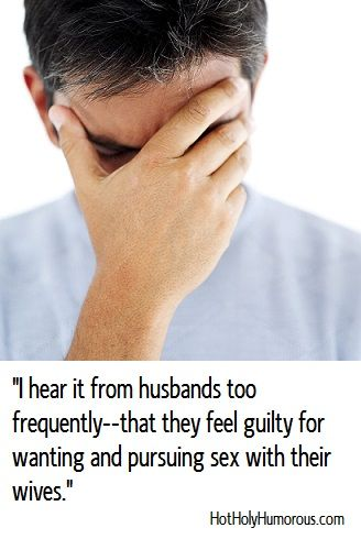 Guilt about sex even though married