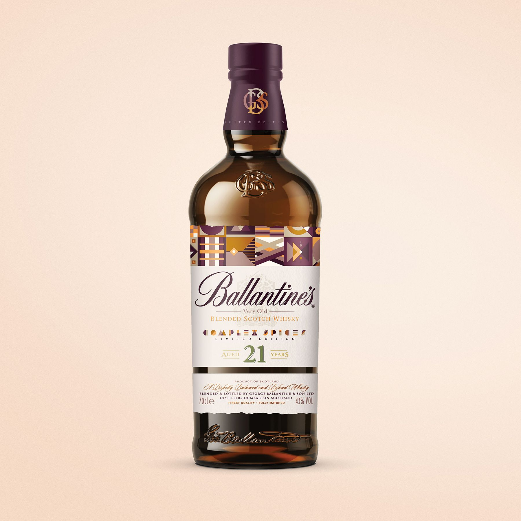 Packaging Design Concept For Ballantine S 21 Year Old Whisky