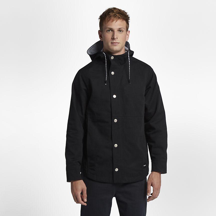Hurley mens Mac a Cotton Jacket