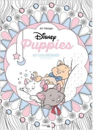 Disney Puppies 60 Coloriages Anti Stress ColouringColoring BooksAdult