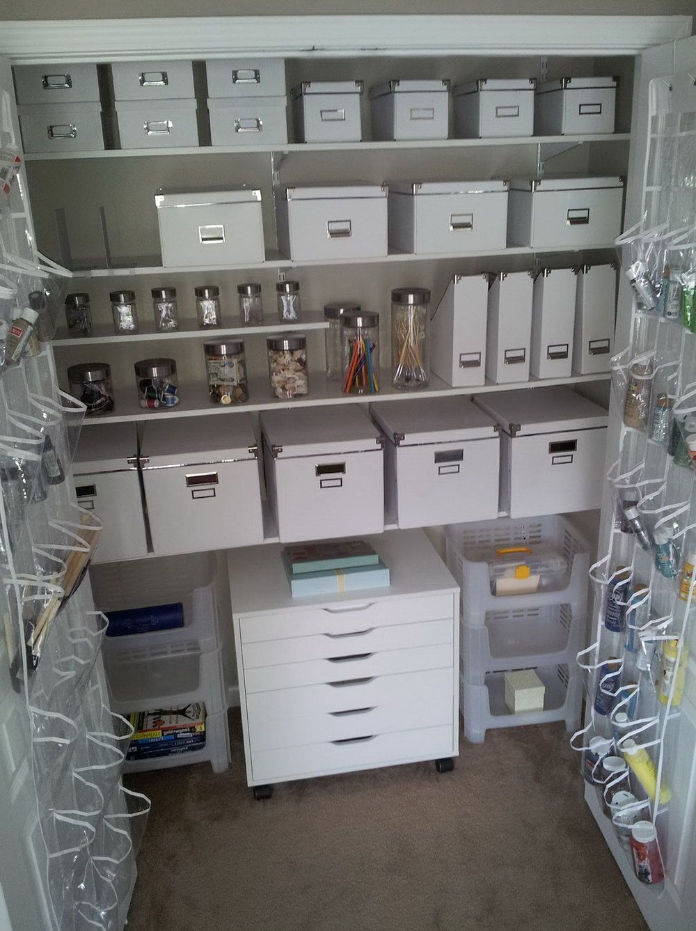 Genial Craft Closet Organization Systems