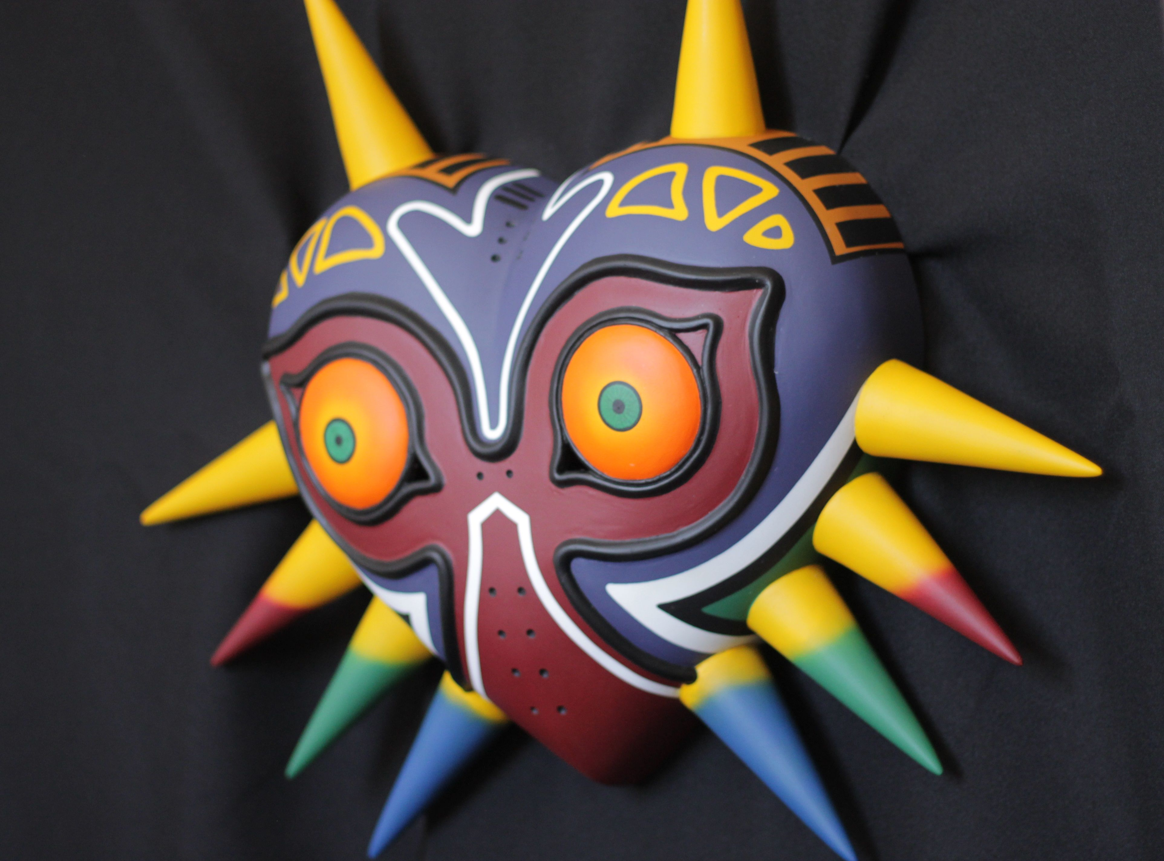 Majora's Mask wearable replica from the game