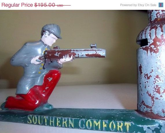 On Sale Vintage Southern Comfort Confederate By Energyforthesoul