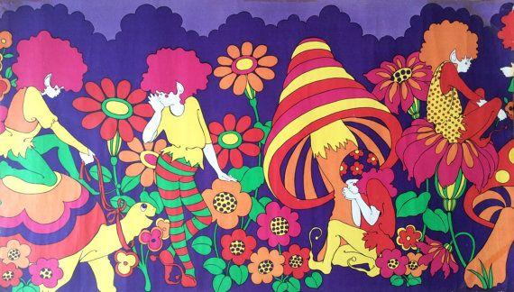 60s Flower Power Wallpaper