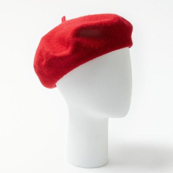 poppy red baret