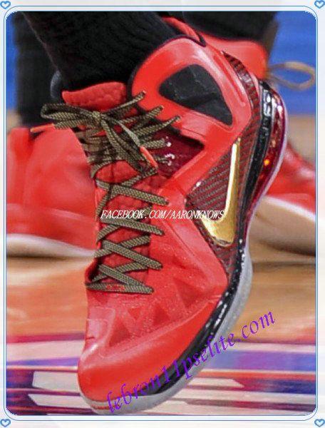 watch 9a0a9 4f580 LeBron 9 P.S. Elite Nike IX Lebrons Finals Away PE-A new sample of LeBron 9  P.S. Elite
