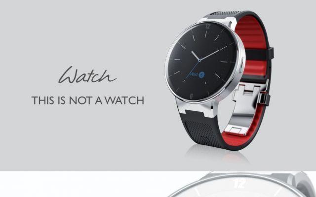 One Touh Watch lo smartwatch Alcatel a 100 euro