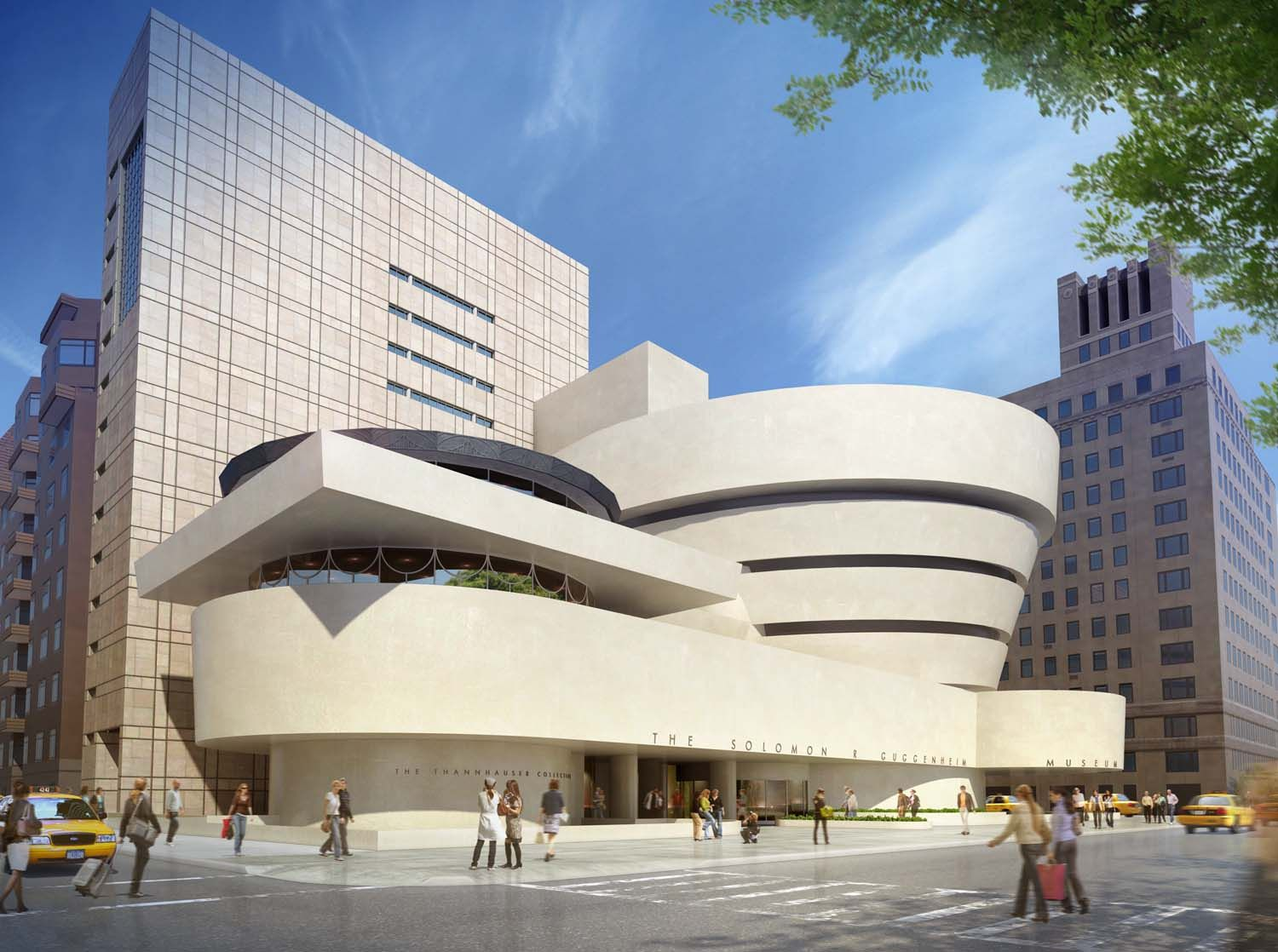 Decorating guggenheim museum new york architect famous Famous contemporary architects