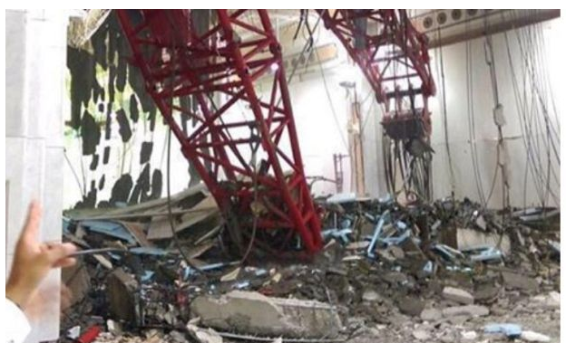 Among those who died in the accident at the Mecca Grand Mosque last week was a couple from Machilipatnam in Krishna district.    Khader, 38, and his wife Fatima Begum, 33, died on Friday afternoon in the accident after a powerful storm