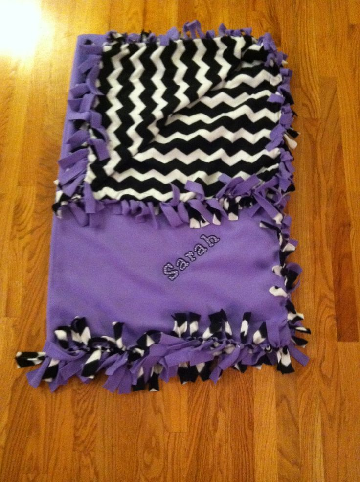 Pin by Molly Ford on No sew blankets Diy baby blankets