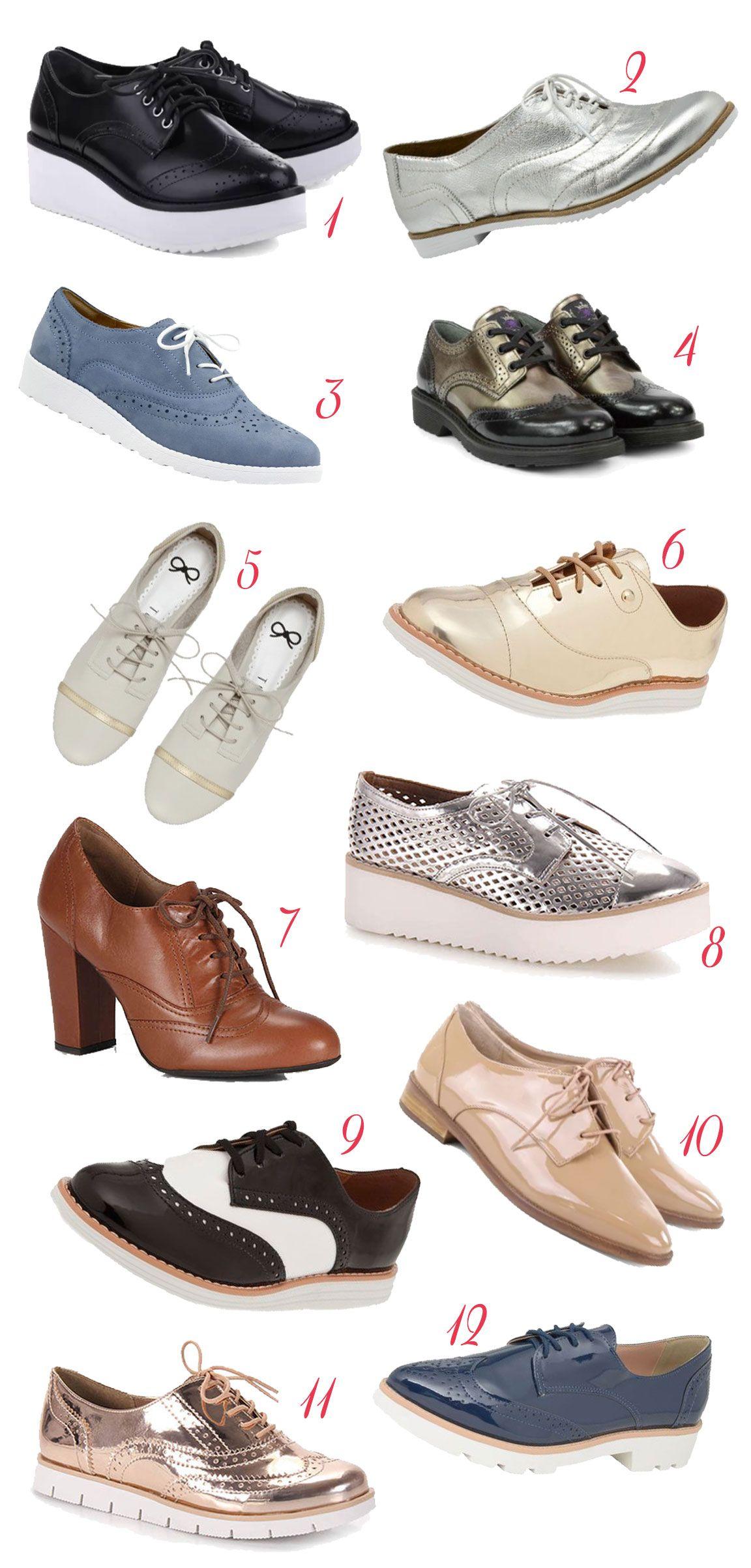 Sapato Oxford – De todos os jeitos e gostos