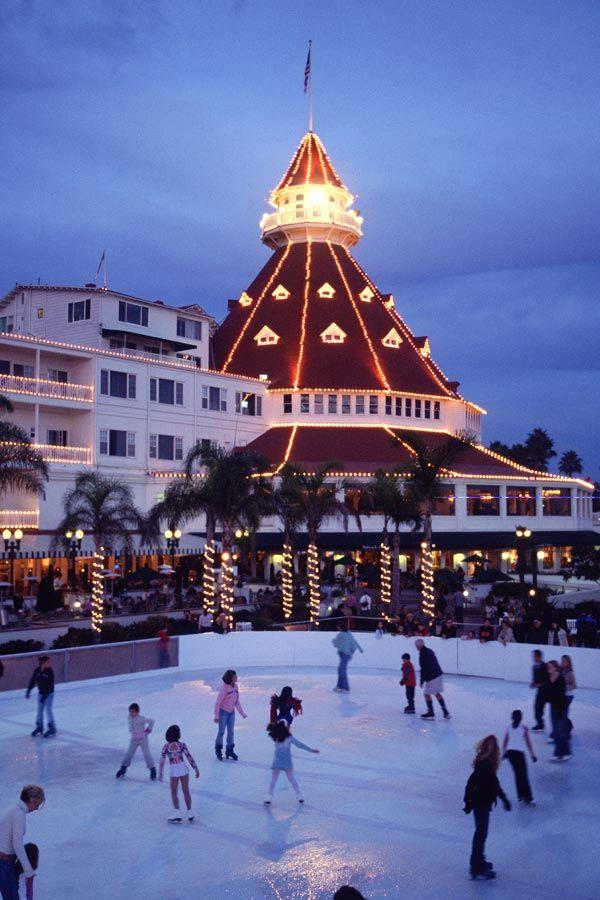 Enjoy Skating By The Sea At The Famous Hotel Del Coronado
