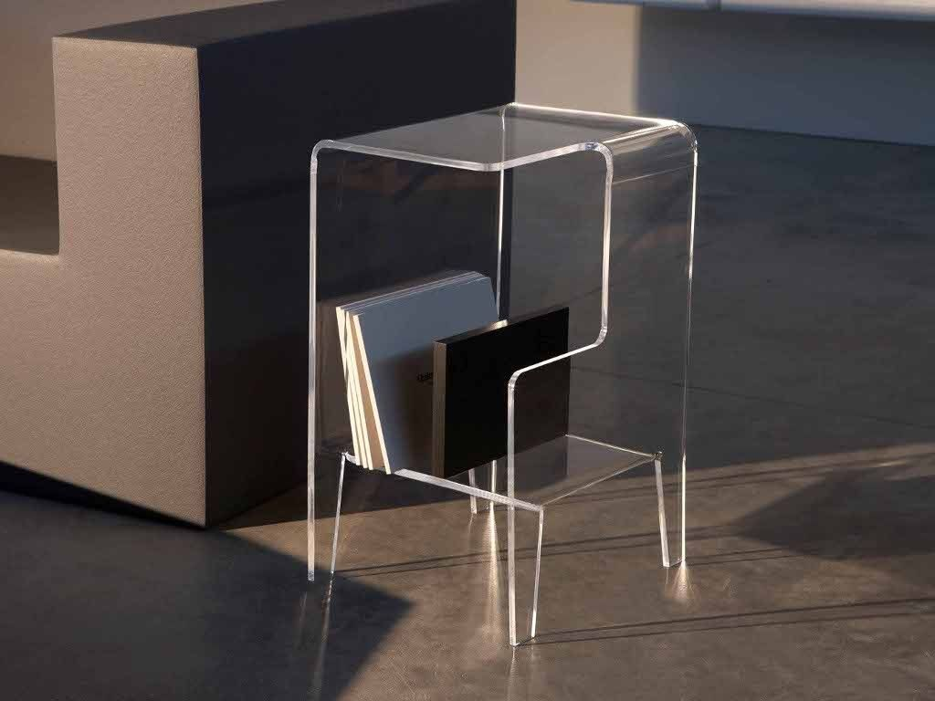 Tavolino Comodino ~ Nature style tavolino da salotto in legno massello e ferro