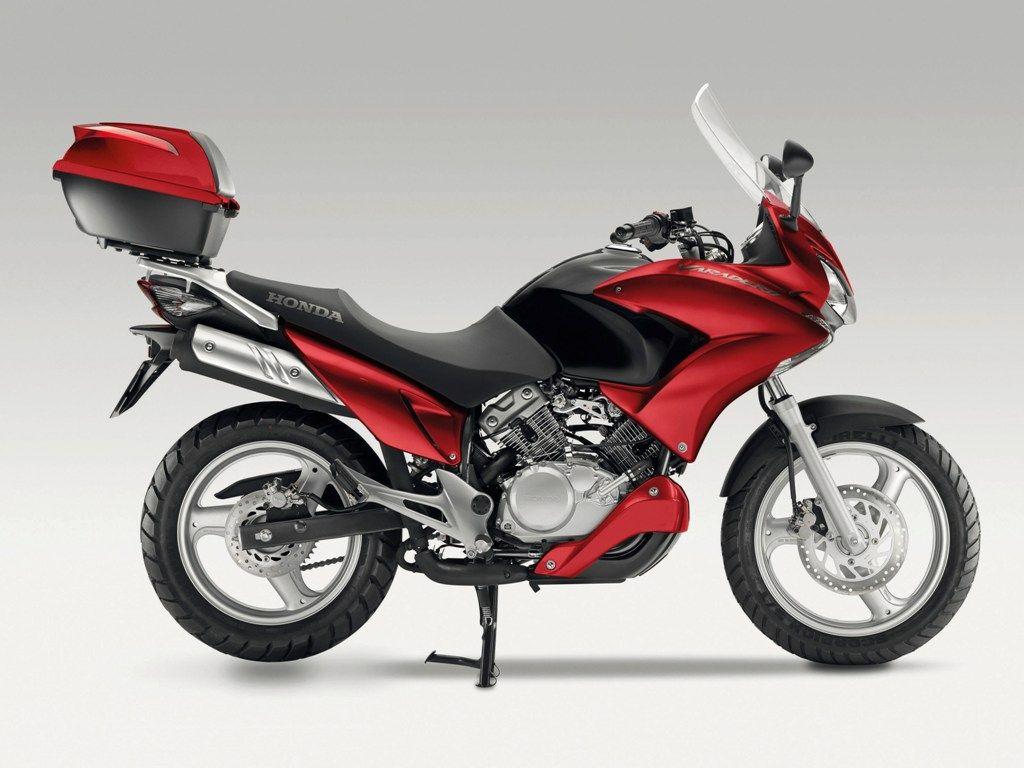 Honda XL 125 V Varadero, fotografia lado motocicleta, Honda