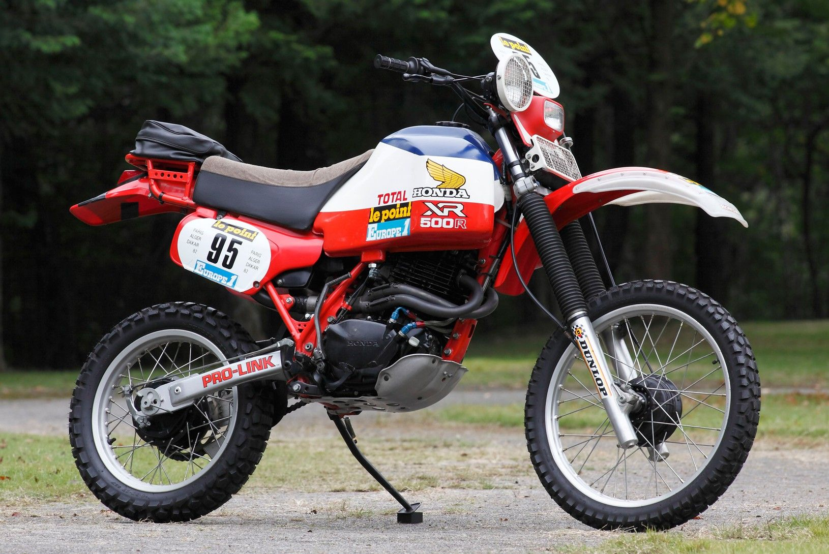 honda xl 500 r paris dakar 1982 jirrka motos guapas. Black Bedroom Furniture Sets. Home Design Ideas