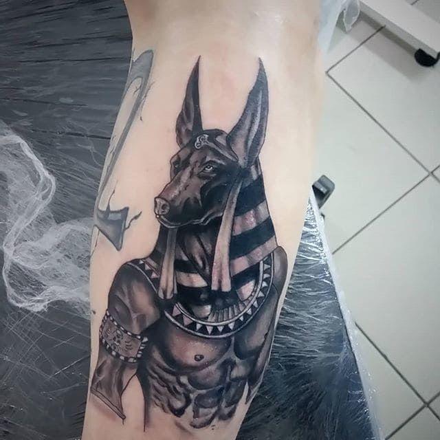 Татуировки анубис картинки