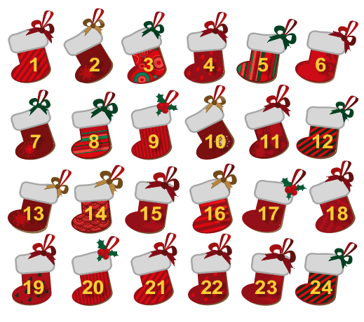 days till christmas calendar | First Published on: 12/15/13 11:30 ...