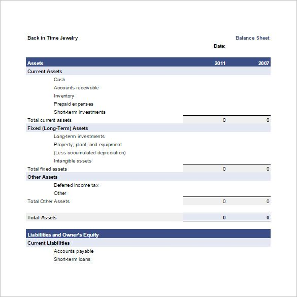 Balance Spreadsheet Template   Budget Template Google Docs