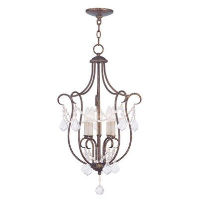Found it at Wayfair - Chesterfield 5 Light Foyer Pendant