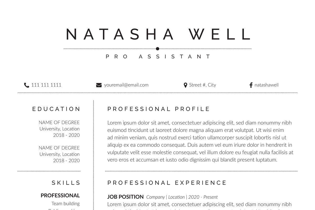 Resume/CV in 2020 Resume cv, Cover letter template, Resume