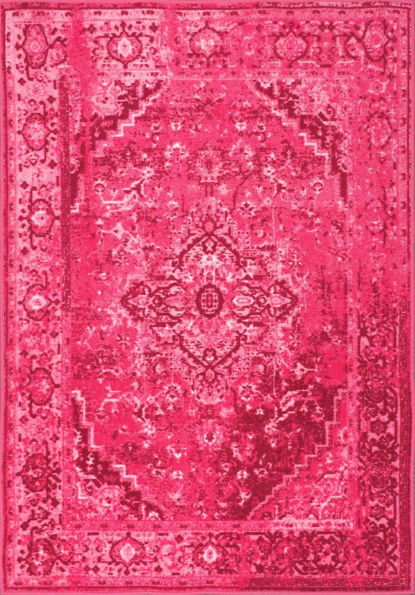 Nuloom Pink Vintage Reiko Mcgz01b Area Rug Em 2019