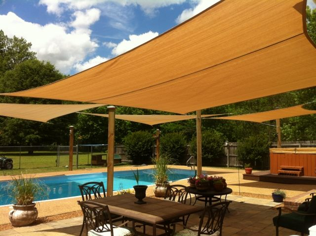 Attractive Sun Shade Sail Square 16 X 16 Heavy Weight Decks Patios