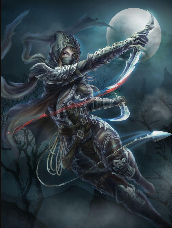Apotelesma Eikonas Gia Fantasy Assassin Female Fantasy Warrior Fantasy Girl Fantasy Characters