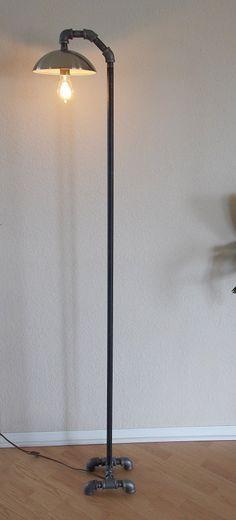 Industrial minimalist floor lamp lampara con tubos de agua simple industrial minimalist floor lamp lampara con tubos de agua simple minimalista aloadofball Image collections