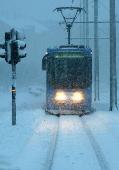 Snow Blizzard In Zagreb Croatia Zagreb Croatia Croatia Croatia Travel