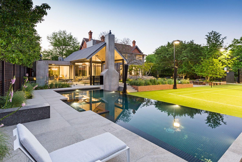 Ian Barker Gardens Landscape Design Construction Melbourne Outdoor Patio Space Swimming Pool Designs Luxury Pools