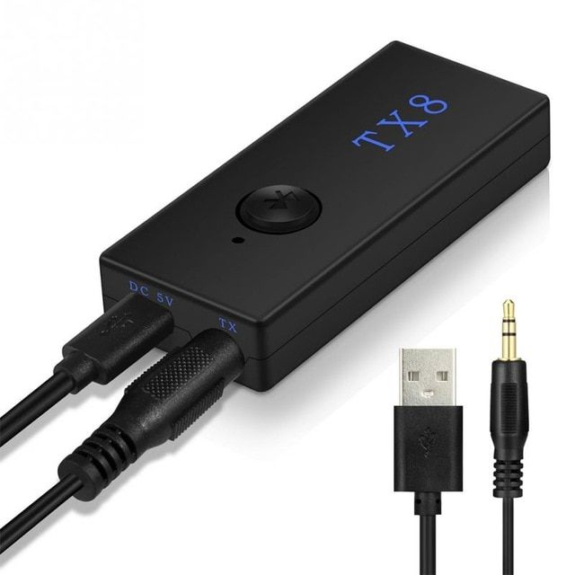 Wireless Bluetooth Transmitter Converter Stereo Audio Adapters For TV Phone PC