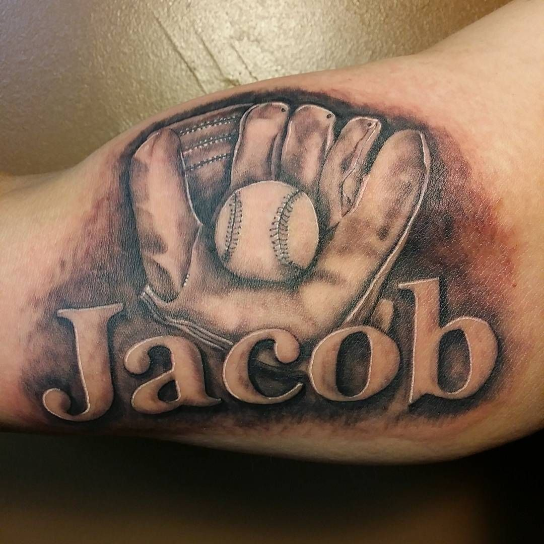 45 Sporty Baseball Tattoo Designs For The Love Of The Game Baseball Tattoos Softball Tattoos Tattoo Designs