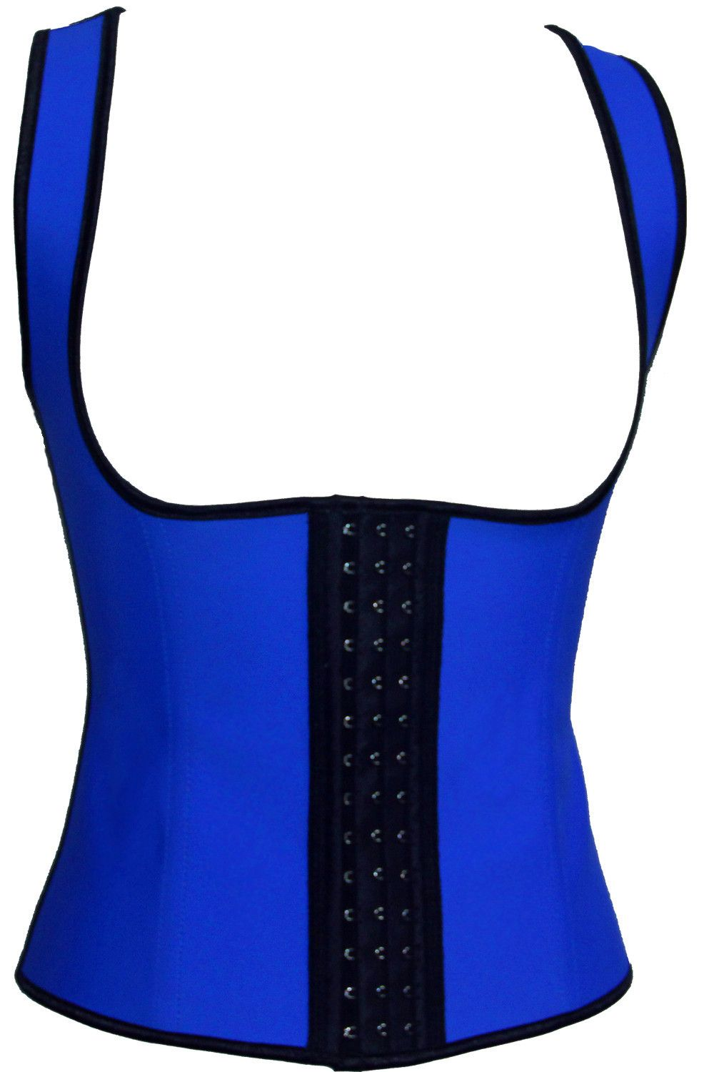 f20f0235af free shipping Womens Latex Corset Under Bust Steel Boned Corset Latex  Rubber Body Shaper