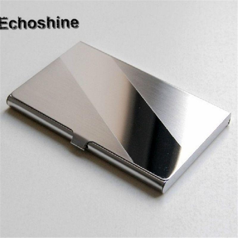 High Quality Bag Porte Carte Credit Holder Trustworthy Steel - Porte carte aluminium