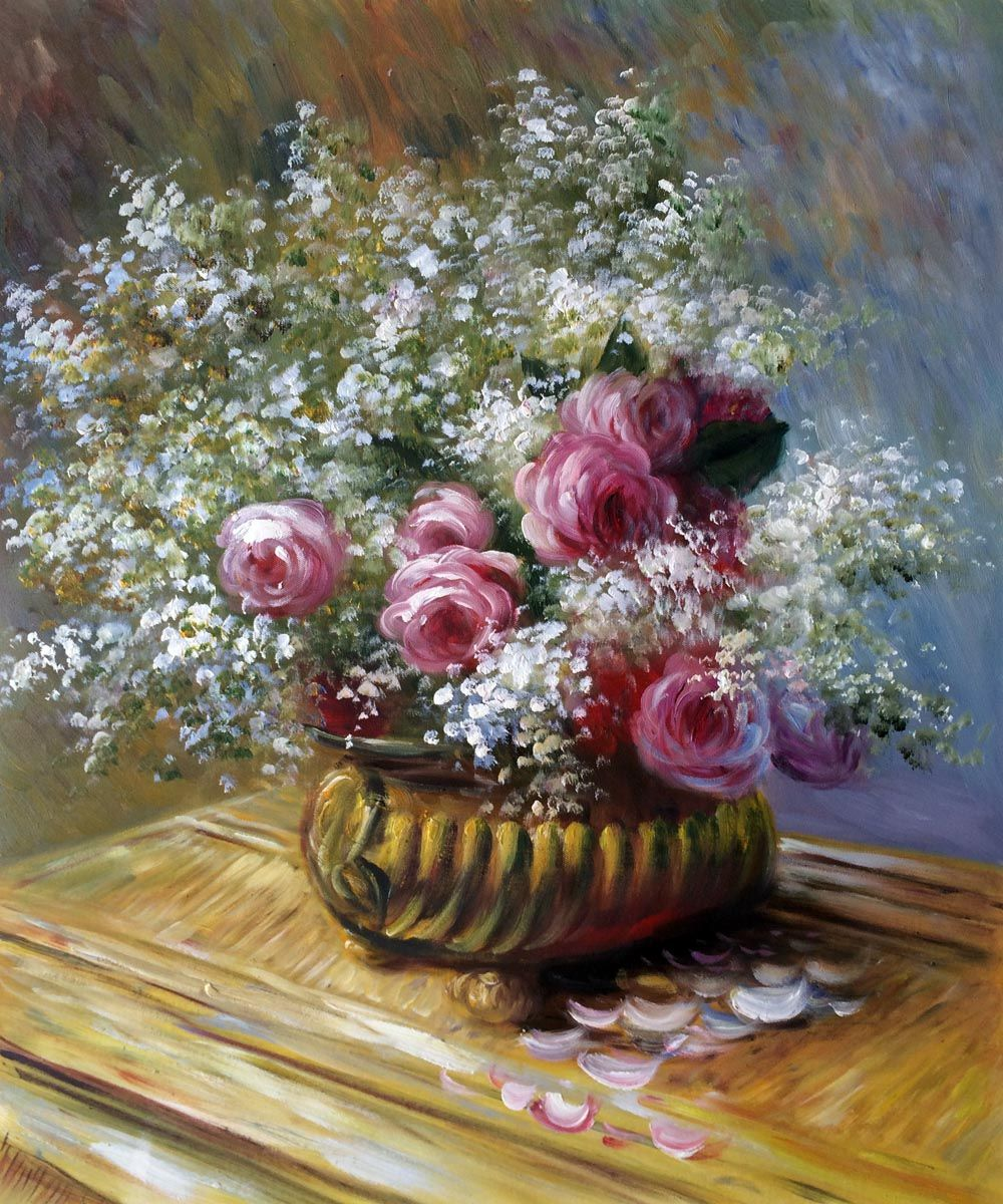 Monet - Flowers in a Pot