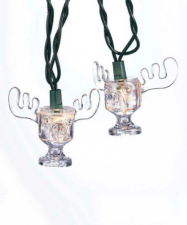 Look at this #zulilyfind! National Lampoon's Christmas Vacation Moose Mug String Lights #zulilyfinds