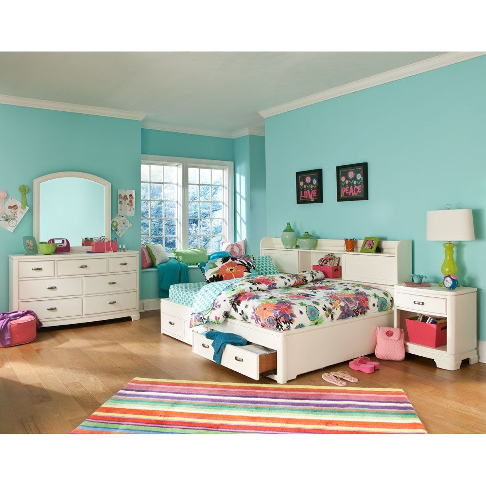 Legacy Classic Kids Park City Bookcase Lounge Full Bed In