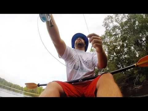 Kayak Fly Fishing for Largemouth Bass