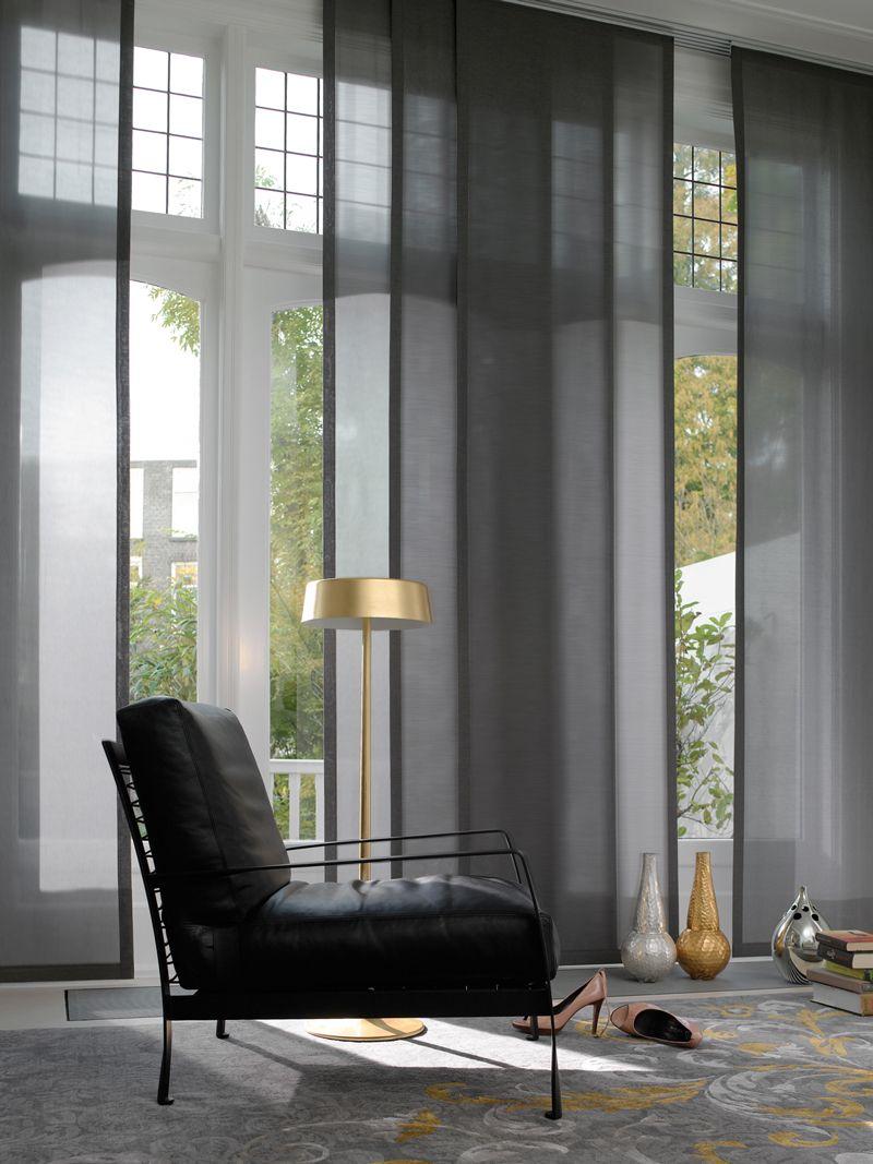 Bonitos paneles para grandes ventanas. estoweb.com | Curtains ...
