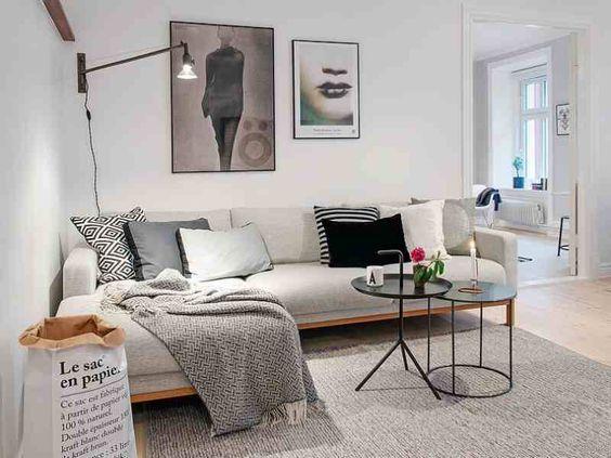 28 gorgeous modern scandinavian interior design ideas - Pinterest wanddeko ...