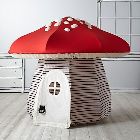 This mushroom playhouse is amazing! | My girls | Play houses